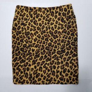 leopard print skirt by Vivienne Tam